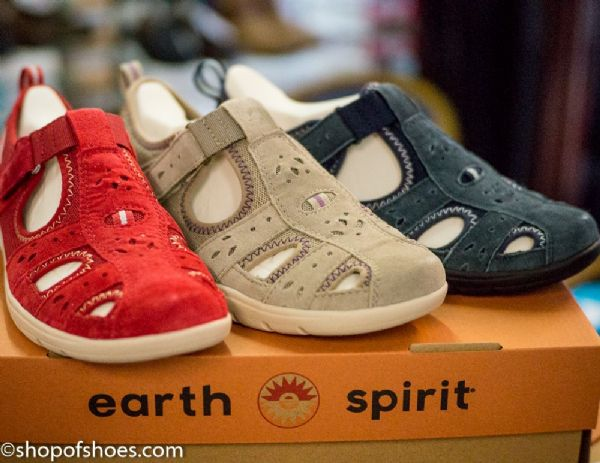 Earth spirit Suede leather spring/summer walking shoe